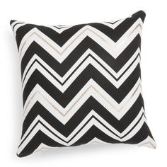 TRIBECA striped fabric cushion cover, 40x40cm £13.99
