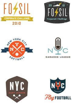 Great logos by Dustin Wallace.