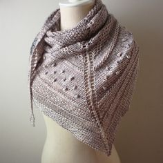 Texelle Chunky Shawl Knitting Pattern – Phydeaux Designs & Fiber