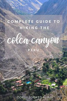 If you're visiting Arequipa then you may have heard a thing or two about the Colca Canyon. Famous for being one of the deepest canyons throughout the. Travel Advice, Travel Guides, Travel Tips, Peru Travel, Wanderlust Travel, Tayrona National Park, Tourist Office, Hiking Guide, In Patagonia