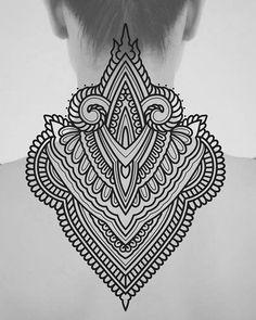 Jj ink tattoos tattoos, mandala tattoo y ge Girly Tattoos, Back Tattoos, Body Art Tattoos, Tribal Tattoos, Sleeve Tattoos, Geometric Mandala Tattoo, Mandala Tattoo Design, Tattoo Designs, Tattoos Mandalas