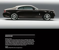 Drive Into The Sunset / Rolls Royce Wraith / Beverly Hills Lifestyle Magazine / Fall 2013