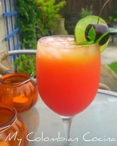Cocktail Rum Punch