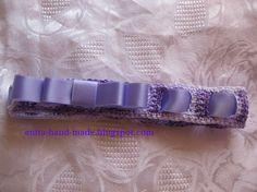 Accessories for little girls, 100% cotton.  Fascetta per bimbe, in 100% cotone, morbida, regge bene senza stringere troppo ;) ideale per bimbe piccole ma va bene anche per le più grandine :)