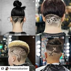 """#Repost @thesocialbarber with @get_repost  Repost @barbertakeover  @jubei_ma  ALL TIME TOP 4  THANK YOU It's never been about """"Followers"""" or """"Likes"""". It's about feedback from supporters and clients pushing me further  What's next???"""