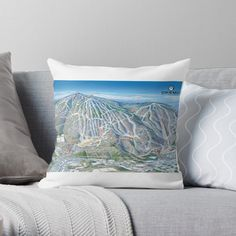 Get My Art Printed On Awesome Products Support Me At Redbubble Rbandme Http Www Redbubble Com People Letourneau41 W Mountain Canvas Ski Resort Skier Gifts
