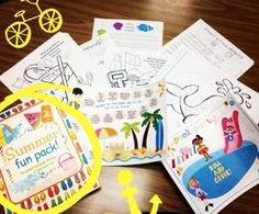 Consider your summer themed articulation and language therapy planning done!