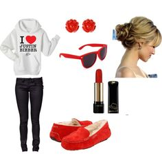 Justin Bieber Outfit Ahahaha I die! Justin Bieber Outfits, Justin Bieber Style, Saturday Outfit, Girl Outfits, Cute Outfits, Red Converse, Teen Fashion, Womens Fashion, What To Wear