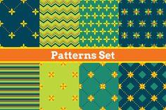 8 seamless patterns. by Xella_Design on Creative Market