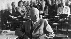 """Fritz Thyssen, einst einer der prominentesten Förderer der NSDAP, wird zu einem """"Minderbelasteten"""" erklärt und gilt fortan als """"Mitläufer"""". Copyright: ullstein bild - TopFoto 16.08.1948"""