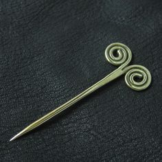 Bronze pin from medieval Rus from The Sunken City by DaWanda.com