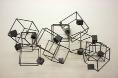 Metal sculpture by Will Mantor