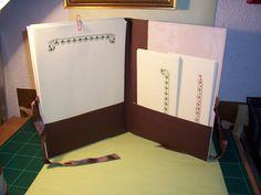 Carpeta para correspondencia. Interior