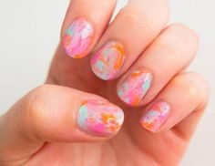 Swirl some color on your nails!