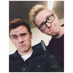 Connor Franta and Tyler Oakley