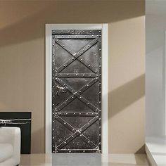 4 dimensions Affiche poster de porte déco trompe l/'oeil New York réf 052