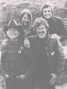 The Highwaymen: Waylon Jennings, Johnny Cash, Willie Nelson & Kris Kristopherson