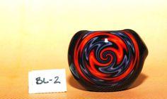 Quality Annealed Heavy Black Boro Glass Spoon by GoatboysGlass