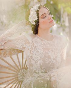 Jannie Baltzer 2014 collection ∼ Elegant Couture Headpieces For Brides - Love My Dress UK Wedding Blog