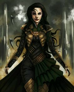 Lady Loki but I LOVE the style of the armor