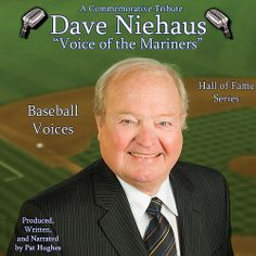 Baseball Voices Seattle #Mariners Dave Niehaus, Voice of the Mariners CD $17.99