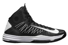 7e4a122fb1d6 Hyperdunk 2012 for Women Nike Hyperdunk Womens 2012 TB Black White Metallic  Silver 524882 001 .