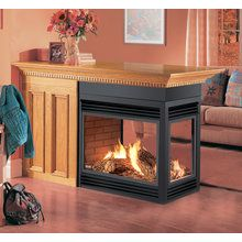 View the Napoleon BGD40N3 30,000 BTU Peninsula 3 Sides Open Direct Vent Zero Clearance Natural Gas Fireplace at Build.com.