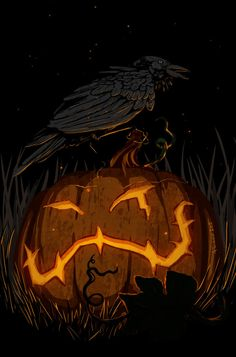 The Jack-o'-Lantern. by Dygee on DeviantArt