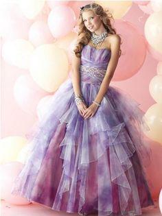 Repunzel inspired prom dress #2