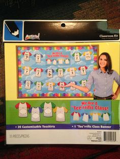 "Art Skills:""WE ARE A 'TEE' RRIFIC CLASS"" Bulletin Board Kit (33 Pieces) Ready! Come get in on the Fun! Starting Bid Starting at Only $4.99......I have several different ones...keep watching!"