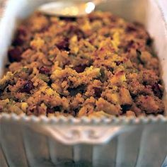 Sausage, Apple and Fennel Corn Bread Dressing. My favorite for ...