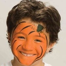 LOTS of Halloween face painting ideas                              …