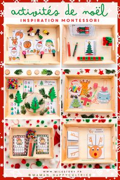 Infant Activities, Craft Activities, Christmas Time, Christmas Cards, Theme Noel, Woodland Party, Xmas Crafts, Script Cursif, Reindeer