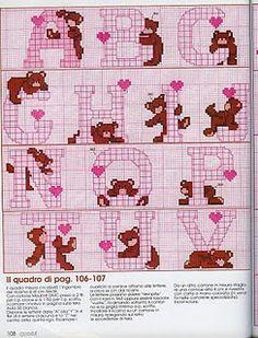 bear alphabet