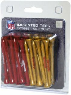 NFL San Fransisco 49ers 50-Pack Team Tees by Team Golf. $12.99. NFL San Fransisco 49ers 50-Pack Team Tees