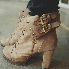 These would go great with skinnys or a skirt !(: