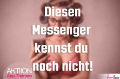 """AKTION: APP-THEMA """"MESSENGER-APPS"""" (IPHONE & ANDROID)"""