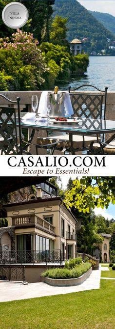 www.casalio.com || Villa Norma || Italy - Lombardy || Lake Como, 3 bedrooms…