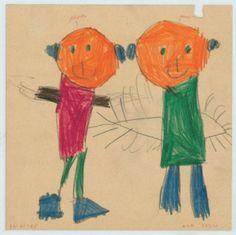 Kindertekening van Wim Delvoye