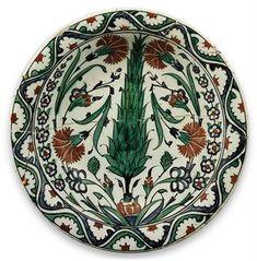 Iznik ancient porcelain