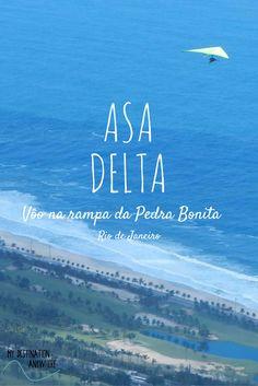 Asa Delta: Salto de Voo Duplo na Rampa Pedra Bonita no Rio de Janeiro