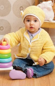 Sunshine Cutie Free Crochet Pattern from Red Heart Yarns