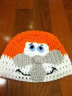 Airplane Plane Crochet Beanie Skullcap Hat-cute costume idea-all sizes available newborn through adult on Etsy, $13.00