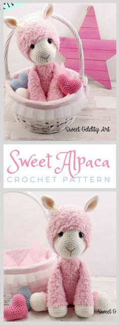 Really this is the cutest little alpaca so adorable just have to make this. alpaca crochet pattern, alpaca, llama crochet pattern, crochet pattern, amigurumi, crochet alpaca, crochet llama #affiliate