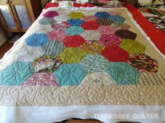 Anita's Quilt and Some of Mine