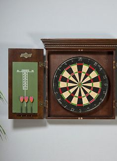 Guys' night, family fun, or party time, this Dartboard is great Father's Day gift idea.