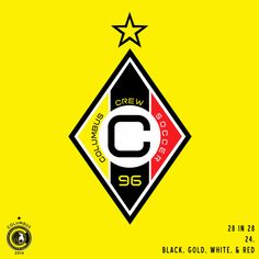 MASSIVE CITY FOOTBALL FAN CORPS: 24: BLACK, GOLD, WHITE, & RED.