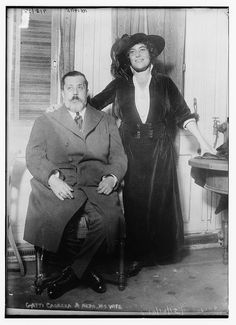Frances Alda (1879-1952) was an opera singer, born Fanny Jane Davis in New Zealand; she married promoter Giulio Gatti-Casazza in 1910, and they divorced in 1928.