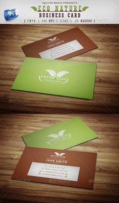 Eco Nature - Business Card