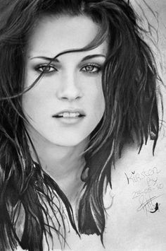 Kristen Stewart drawing by Coniglio89 on deviantART